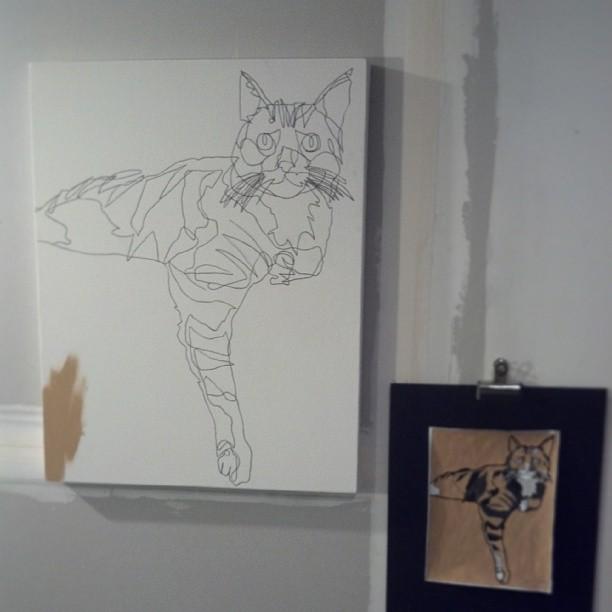 Cat Portrait Jason Oliva